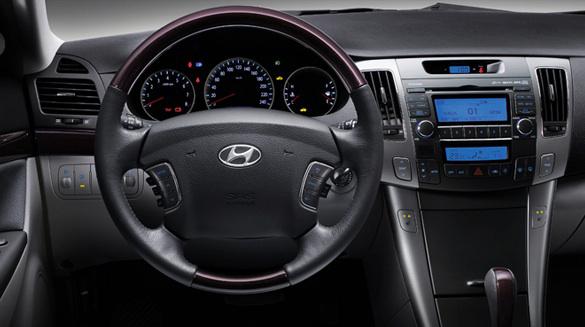 2010 Hyundai Sonata, Interior View, interior, manufacturer