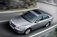 2010 Hyundai Sonata, Overhead View, exterior, manufacturer