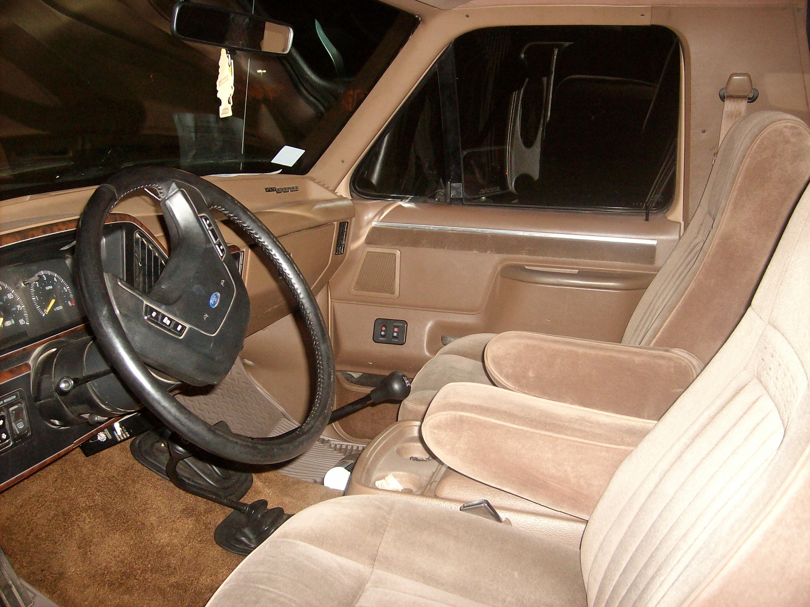 1987 Ford Bronco Interior Picture of 1987 Ford Bronco