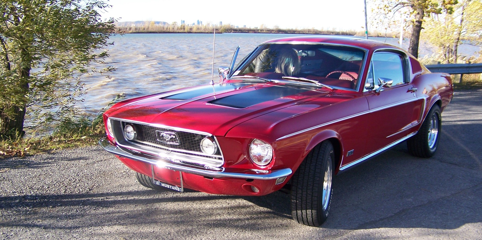 picture of 1968 ford mustang gt fastback exterior. Cars Review. Best American Auto & Cars Review