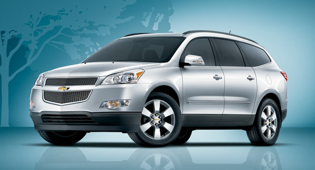 2010 Chevrolet Traverse, Front Left Quarter View, manufacturer, exterior