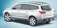2010 Chevrolet Traverse, Back Right Quarter View, manufacturer, exterior