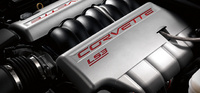 2010 Chevrolet Corvette, Engine View, engine, manufacturer