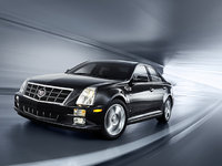 2010 Cadillac STS, Front Left Quarter View, exterior, manufacturer
