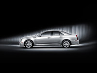 2010 Cadillac STS, Left Side View, exterior, manufacturer