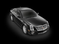 2010 Cadillac STS, Front Right Quarter View, exterior, manufacturer