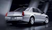 2010 Cadillac DTS, Back Right Quarter View, exterior, manufacturer