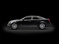 2010 Cadillac CTS-V, Left Side View, exterior, manufacturer