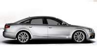 2010 Audi A6, Right Side View, exterior, manufacturer