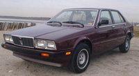 1986 Maserati Biturbo Overview
