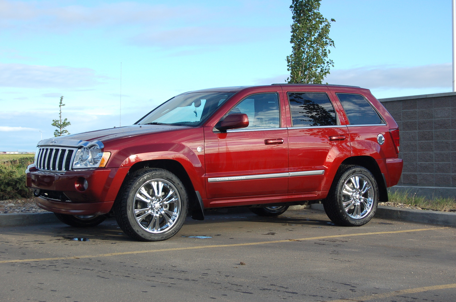 picture of 2007 jeep grand cherokee overland exterior. Black Bedroom Furniture Sets. Home Design Ideas