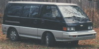 Picture of 1990 Mitsubishi Vanwagon Base Passenger Van, exterior, gallery_worthy