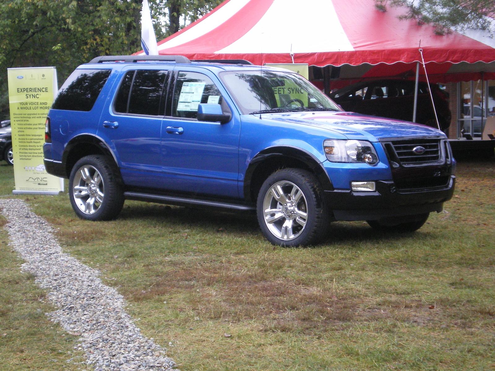 Re 09 ford explorer xlt sport i roll