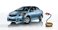 2010 Toyota Yaris, Front-quarter view, exterior, manufacturer