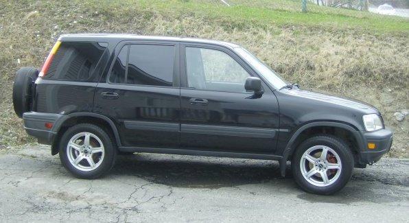 2000 Honda CR-V LX AWD, 2000 Honda CR-V LX 4WD picture, exterior