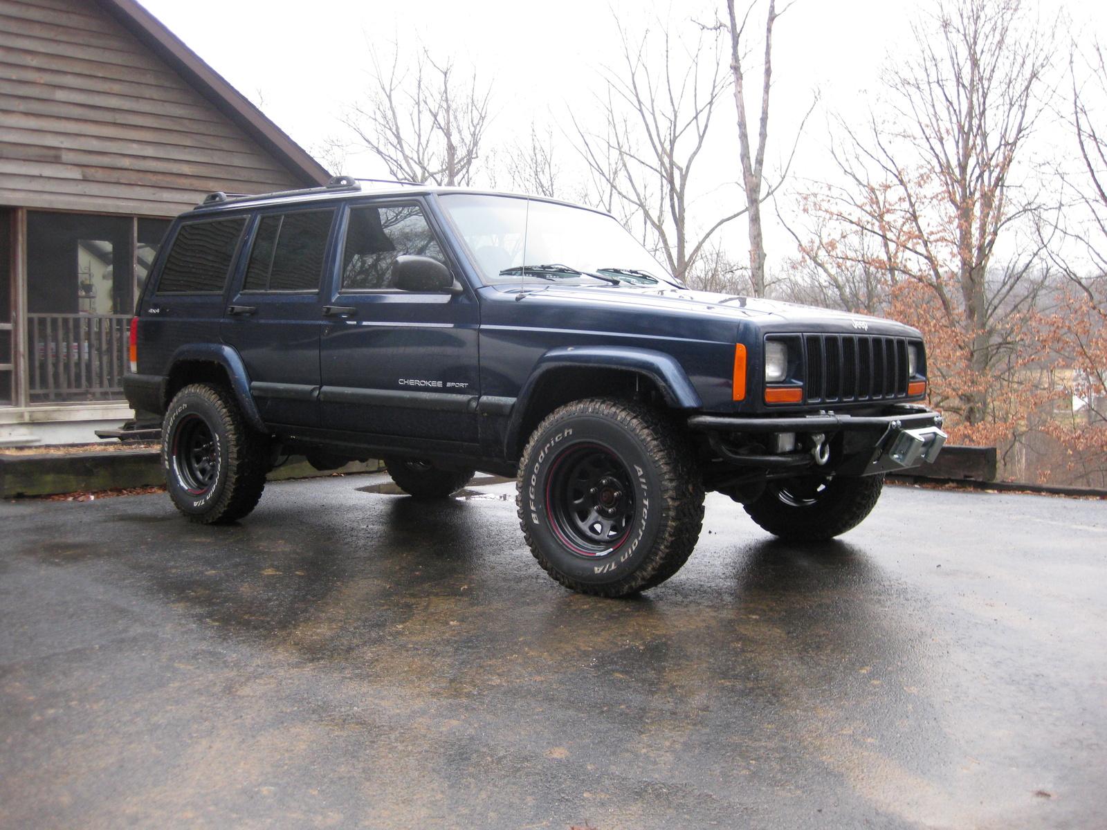 picture of 2001 jeep cherokee sport 4wd exterior. Cars Review. Best American Auto & Cars Review