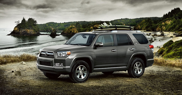 2010 Toyota 4Runner, Front-quarter view, exterior, manufacturer, gallery_worthy