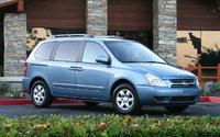 2009 Kia Sedona, Front-quarter view, exterior, manufacturer