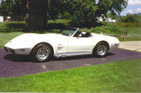 1975 Chevrolet Corvette Convertible picture, exterior