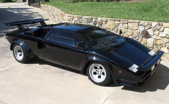 1979 Lamborghini Countach Trims And Specs