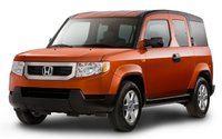 2010 Honda Element, Front-quarter view, exterior, manufacturer