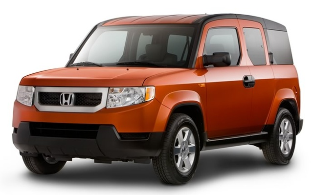 2010 Honda Element, Front-quarter view, exterior, manufacturer, gallery_worthy
