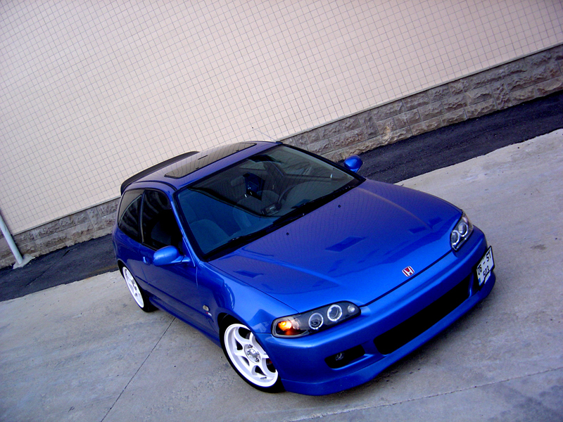 Picture of 1993 honda civic si hatchback exterior