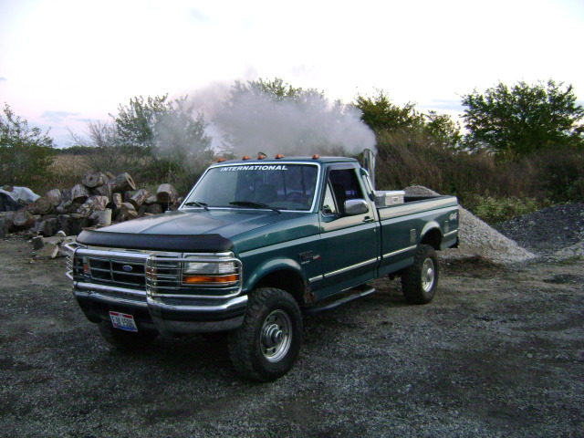 1994 ford f 250 2 dr xlt 4wd standard cab lb stacked 4 inch lift on