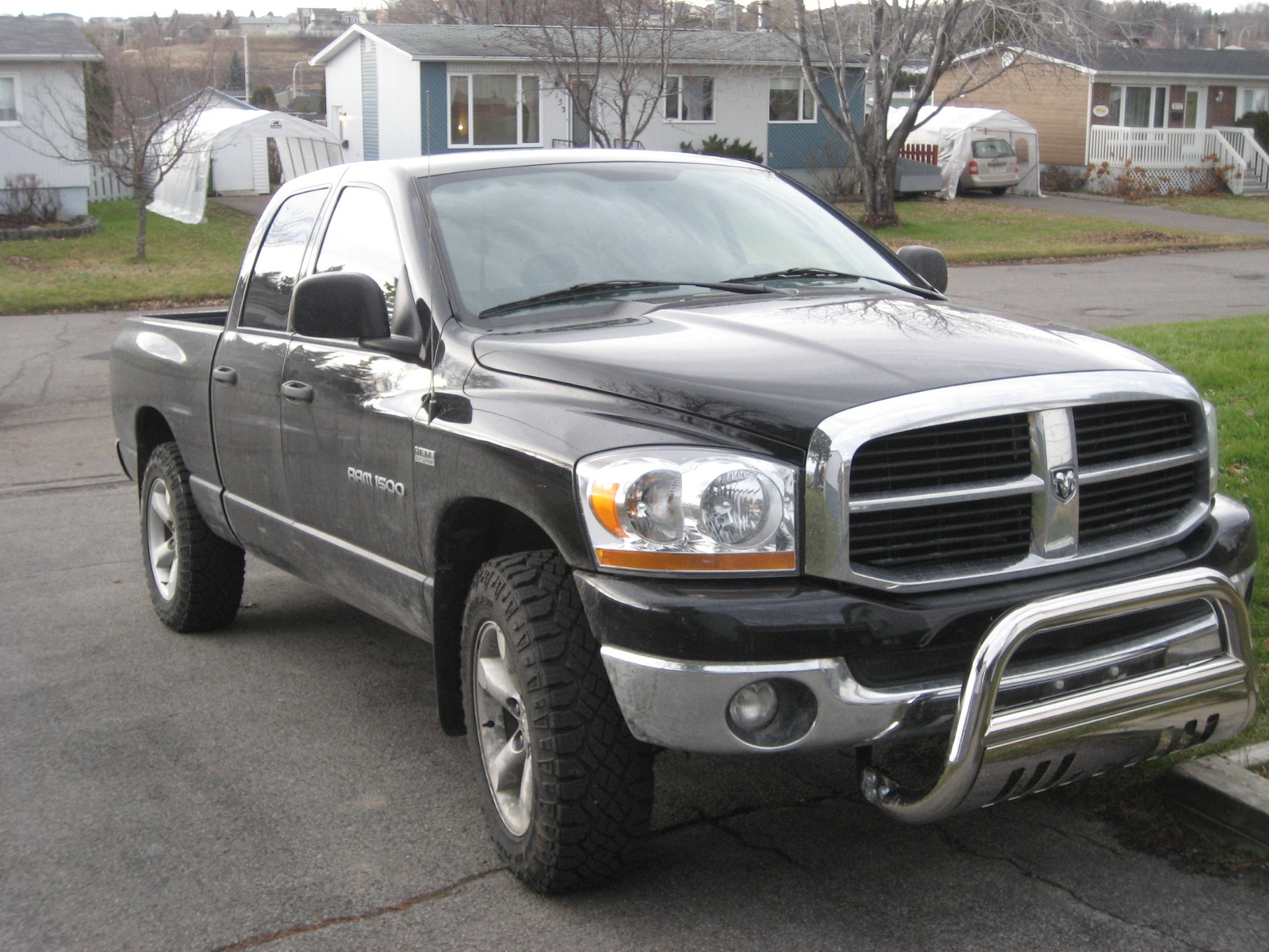 2006 dodge ram pickup 1500 slt 4dr quad cab 4wd sb picture exterior. Black Bedroom Furniture Sets. Home Design Ideas