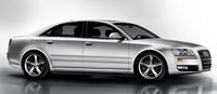 2010 Audi A8, Right Side View, exterior, manufacturer