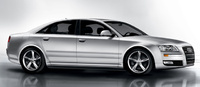 2010 Audi A8, Right Side View, manufacturer, exterior
