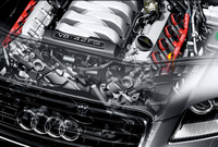 2010 Audi A8, Engine View, engine, manufacturer