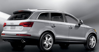 2010 Audi Q7, Back Right Quarter View, manufacturer, exterior