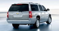 2010 Chevrolet Suburban, Back Right Quarter View, manufacturer, exterior