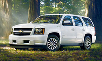 2010 Chevrolet Tahoe, Front Left Quarter View, manufacturer, exterior
