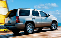 2010 Chevrolet Tahoe, Back Right Quarter View, exterior, manufacturer