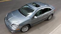 2010 Chrysler Sebring, Overhead View, exterior, manufacturer