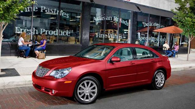 2010 Chrysler Sebring, Left Side Viw, exterior, manufacturer
