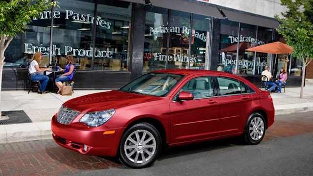 2010 Chrysler Sebring, Left Side Viw, manufacturer, exterior