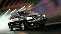 2010 Chrysler Town & Country, Front Right Quarter View, exterior, manufacturer