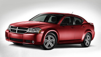 2010 Dodge Avenger, Front Left Quarter View, manufacturer, exterior