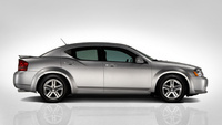 2010 Dodge Avenger, Right Side View, manufacturer, exterior