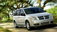 2010 Dodge Grand Caravan, Front Right Quarter View, exterior, manufacturer