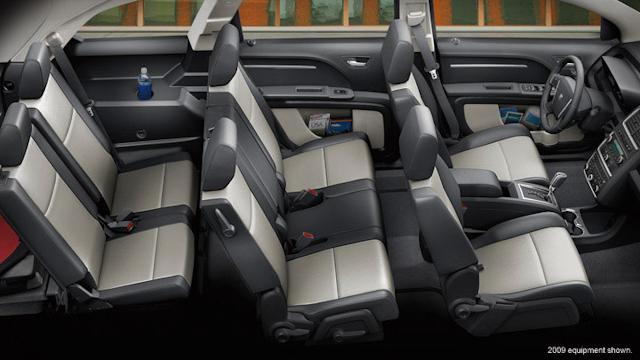 2010 Dodge Journey, Interior