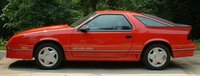 Picture of 1990 Dodge Daytona 2 Dr Shelby Turbo Hatchback, exterior, gallery_worthy