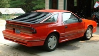 1990 Dodge Daytona 2 Dr Shelby Turbo Hatchback picture, exterior