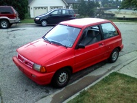 1991 Ford Festiva Overview