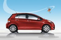2010 Toyota Yaris, side view, exterior, manufacturer