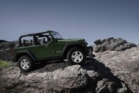 2010 Jeep Wrangler, side view, exterior, manufacturer