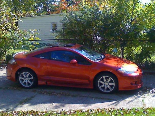 2007 Mitsubishi Eclipse SE picture, exterior